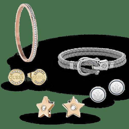 Najděte ty nejkrásnější pánské a dámské šperky - náušnice, náhrdelníky, náramky, manžetové knoflíčky