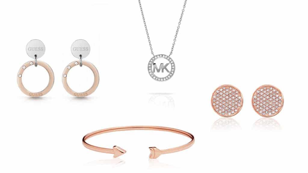 Dámské šperky Tommy Hilfiger, Guess, Michael Kors. Náramky, náhrdelníky, náušnice pro dámy