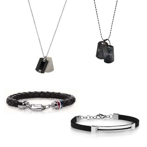 Značkové pánské šperky - Tommy Hilfiger, Diesel, Emporio Armani, Police a mnoho dalších